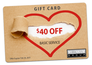 Millennium Group $40 Off Gift Card
